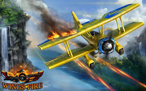 Wings on Fire - Endless Flight screenshot 1