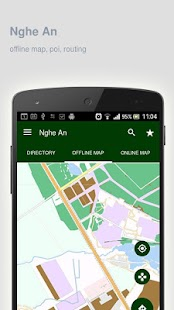 Nghe An Map offline - screenshot