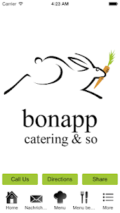 bonapp catering & so ag - screenshot