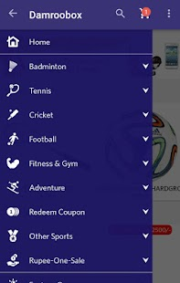 Damroobox | Sports Shopping - screenshot