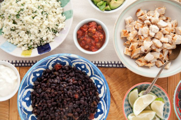 ultimate chicken burrito bowl recipes dishmaps the ultimate chicken ...