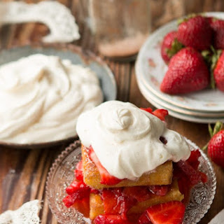 Italian Strawberry Shortcake