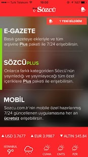 Sözcü Screenshot