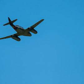 ME 262 Messerschmitt by Bruce Miller - Transportation Airplanes ( wwii, me 262, aircraft, jet, messerschmitt, airshow )