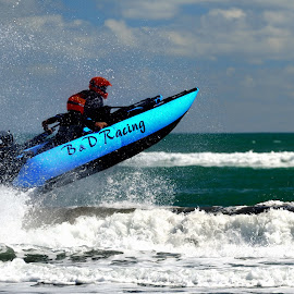 Racing by Tomasz Budziak - Sports & Fitness Watersports ( watersports, racing, new zealand )