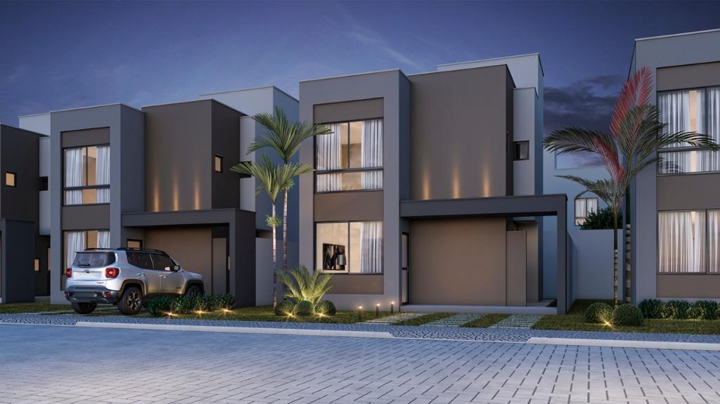 Casa com 4 dormitórios à venda, 127 m² por R$ 441.264 - Sim - Feira de Santana/BA