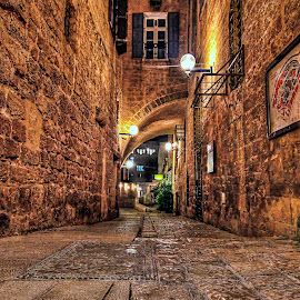 OLD JAFFA by Dong  Leoj - City,  Street & Park  Neighborhoods ( street&park, neighborhoods, city )