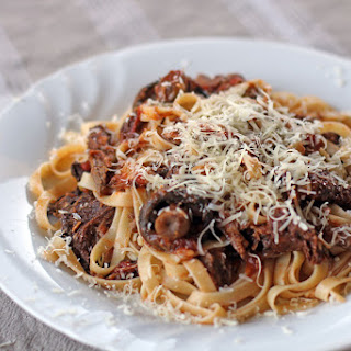 Beef and Mixed Mushrooms Ragout