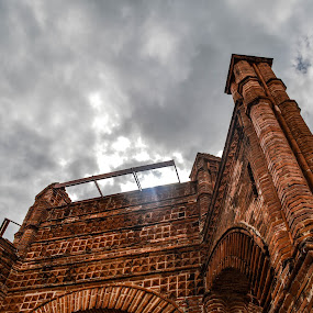 Pila  by Alighieri Rizo - Buildings & Architecture Architectural Detail ( arquitectura, pilares, pila, chiapas, chiapa de corzo )