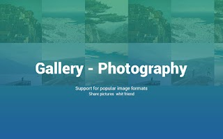 Screenshot of Photography Gallery