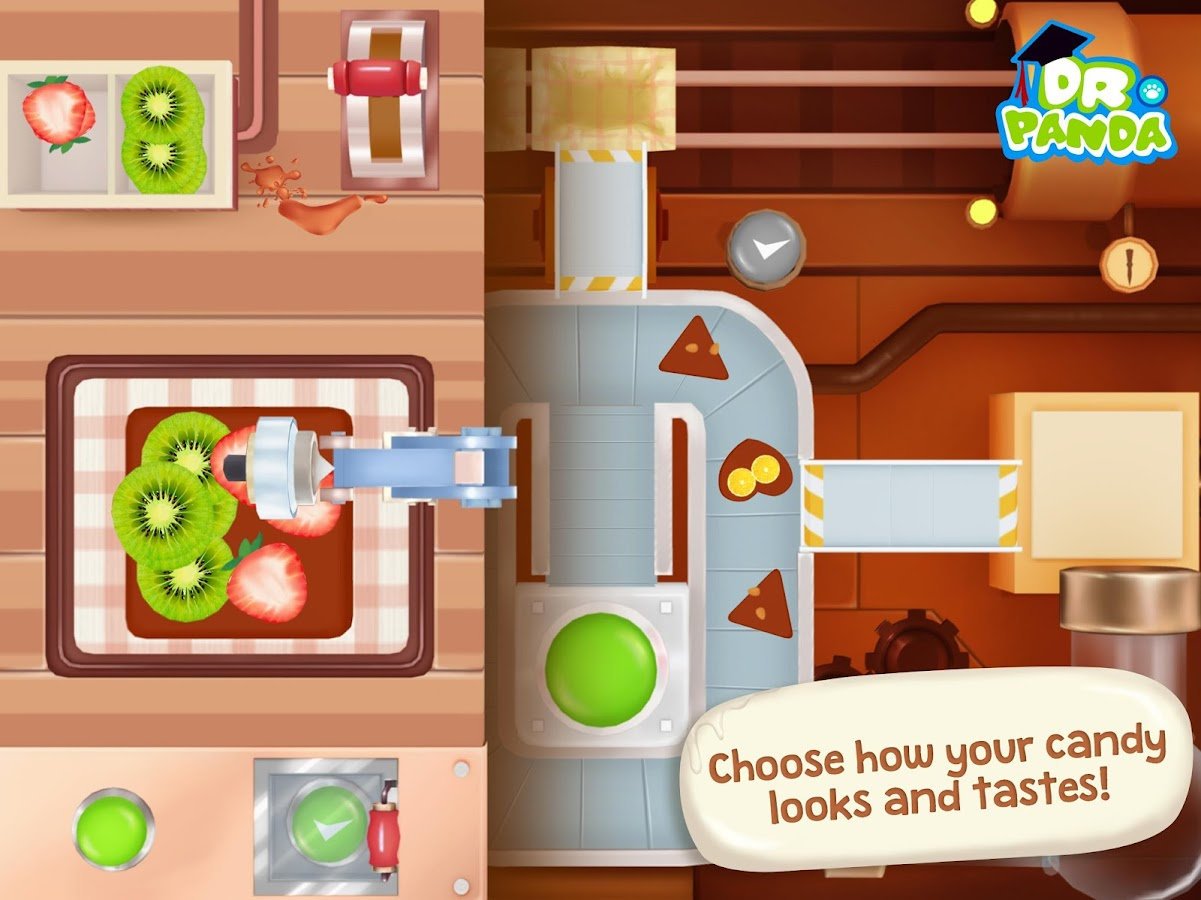 Dr. Panda Candy Factory Screenshot 2
