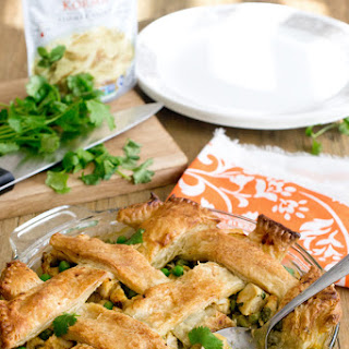 Korma Chicken Pot Pie