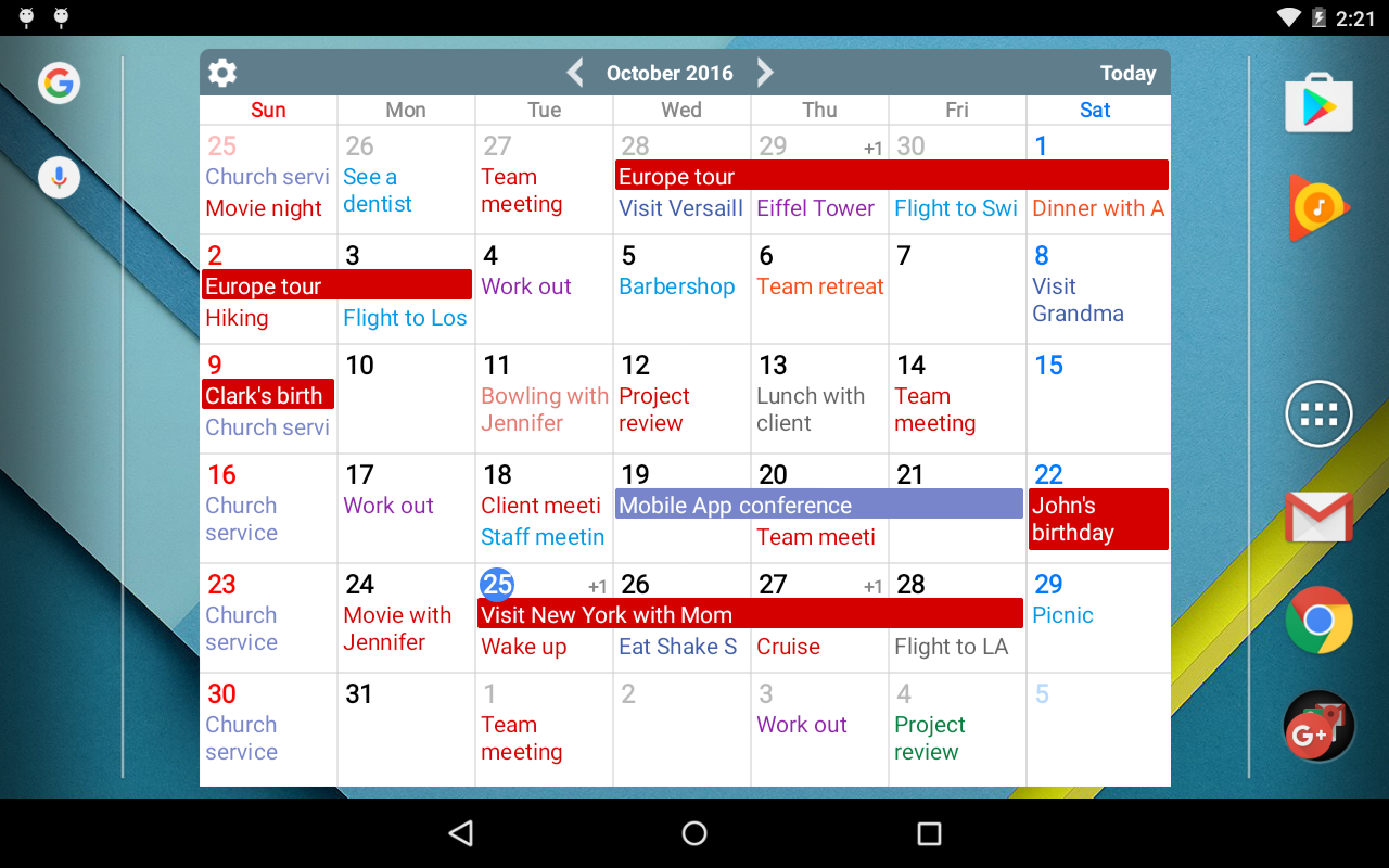 Calendar+ Schedule Planner Screenshot 8