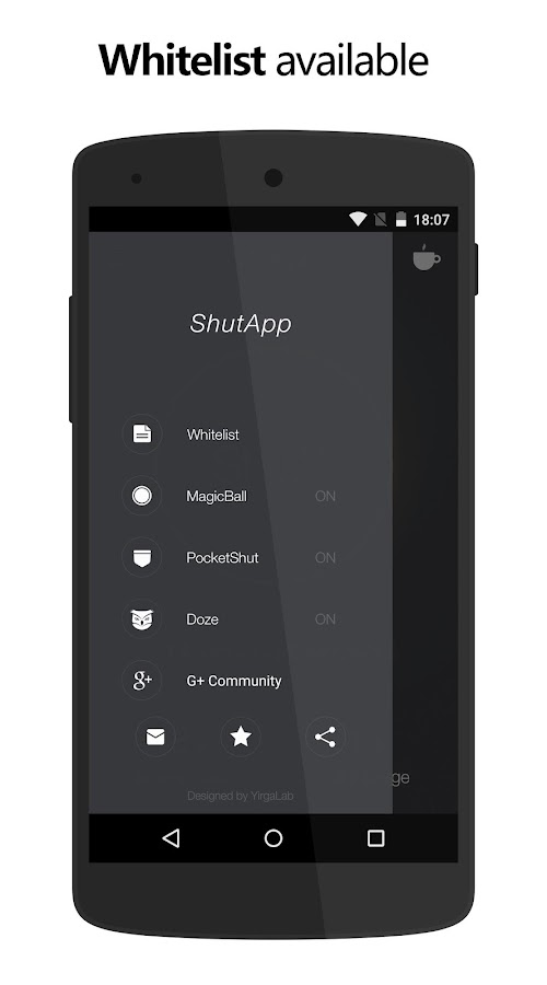 ShutApp - Real Battery Saver Screenshot 4