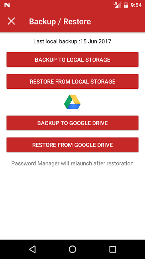 Passsword Manager Plus : Fingerprint & Backup Screenshot 7
