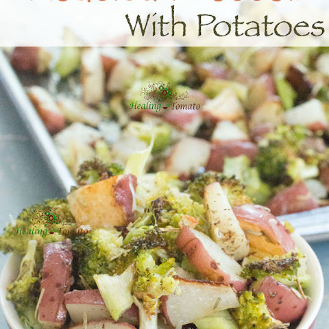 Roasted Broccoli With Potatoes