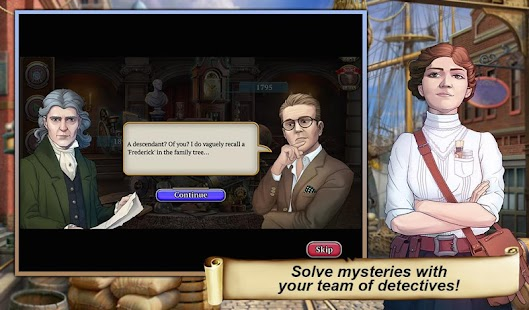 12 Hidden Object Time Crimes Case App screenshot