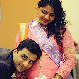 The eager parents to be!! by Prady Das - People Maternity ( maternity, pregnancy, pregnant, parents to be, mom dad to be,  )