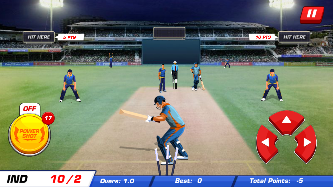 Power Cricket T20 Cup 2016 Screenshot 8