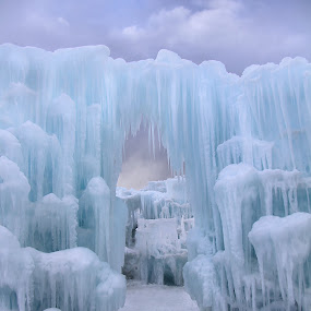 Fortress of Solitude by Jen Millard - Buildings & Architecture Other Exteriors ( building, nature, ice, design )