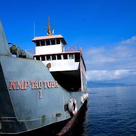 ajibata by Risnandar Awang - Transportation Boats