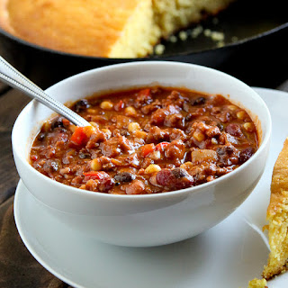 Healthy Turkey And Veggie Chili