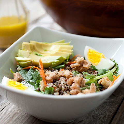 Lentil and Quinoa Chopped Salad