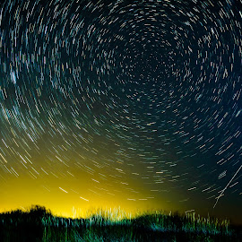star trail experiment by Stuart Flowers - Novices Only Landscapes