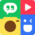 Photo Grid - Photo Editor, Video & Pic Collage APK for Bluestacks