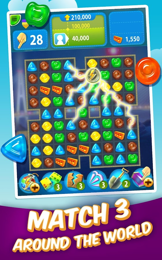 Gummy Drop! – Free Match 3 Puzzle Game Screenshot 6