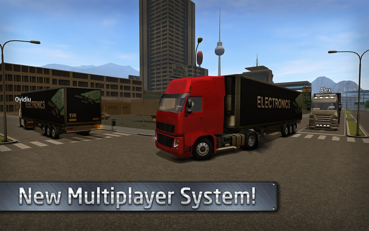 Euro Truck Driver (Simulator) Screenshot 1