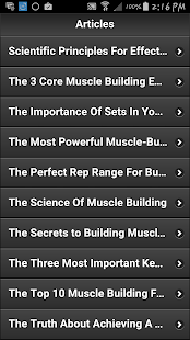 Secrets To Body Building - screenshot