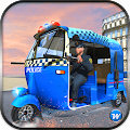 Police Tuk Tuk Auto Rickshaw APK for Bluestacks
