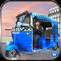 Police Tuk Tuk Auto Rickshaw APK for Bluestacks