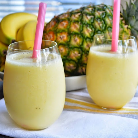 Banana-Pineapple Smoothie