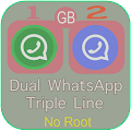 Free Chat GBWhatsApp Plus Dual 2017 Guide APK for Windows 8