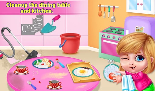 My Princess Doll House Cleanup - screenshot