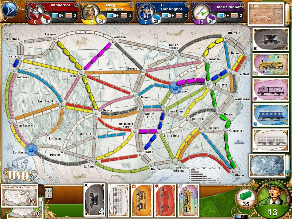 Ticket to Ride Screenshot 5
