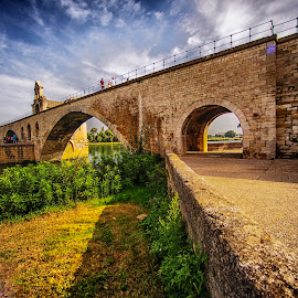 Saint Benezet,Avignon by Stanley P. - Buildings & Architecture Bridges & Suspended Structures