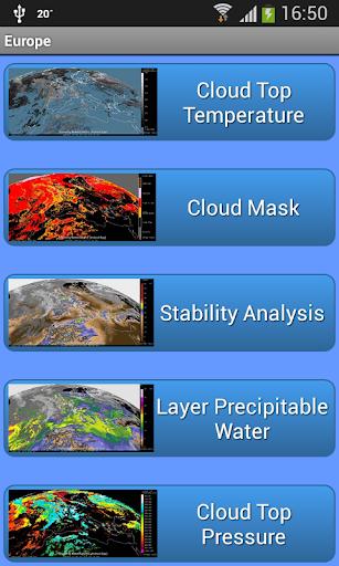 MeteoSatsPro - screenshot