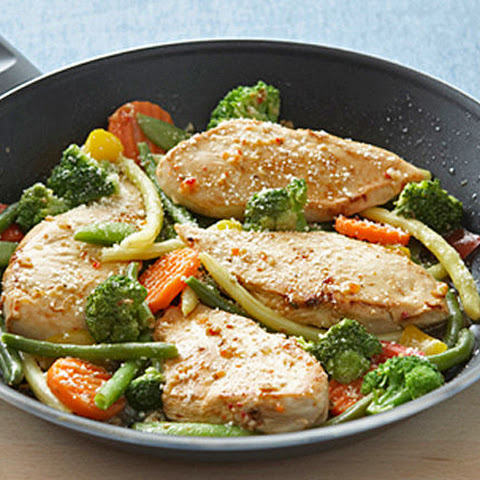 Chicken & Veggie Skillet