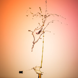 by Francois Loubser - Abstract Water Drops & Splashes