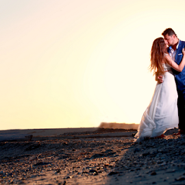 by Ilias Zaxaroplastis - Wedding Bride & Groom