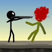 Game Stickman and Shotgun APK for Kindle