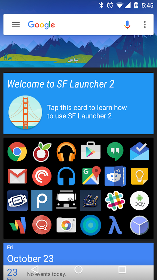 SF Launcher 2 Screenshot 3