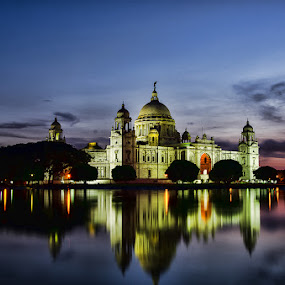 by Souvik Goswami - Buildings & Architecture Public & Historical ( kolkata, india, historical places, victoria memorial )