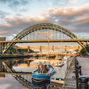 Tyne Bridge Reflections by Lang Shot Photography.jpg