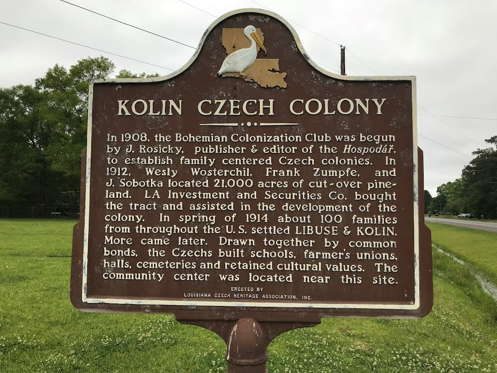 In 1908, the Bohemian Colonization Club was begun by J. Rosicky, publisher & editor of theHospodář, to establish family centered Czech colonies. In 1912, Wesly Wosterchil, Frank Zumpfe, and J. ...