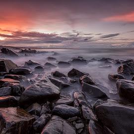 Rocky by Steve Badger - Landscapes Sunsets & Sunrises ( cabarita, australia, new south wales )