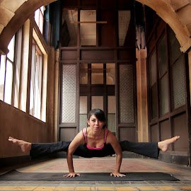 yoga 1 by Rizano Sumampouw - People Professional People